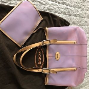 Tods jelly tote bag